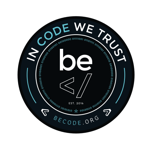 Becode seal print logo